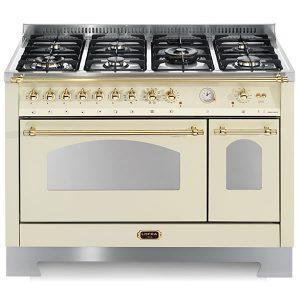 Cucina Doppio Forno Elettrico Lofra RBID126MFT+E-2AEO Avorio