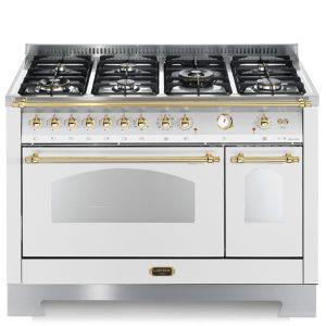 Cucina Doppio Forno Elettrico Lofra RBPD126MFT+E-2AEO Bianco Perla