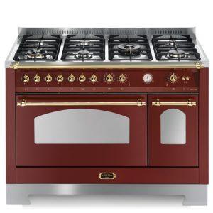 Cucina Doppio Forno Elettrico Lofra RRD126MFT+E-2AEO Burgundy
