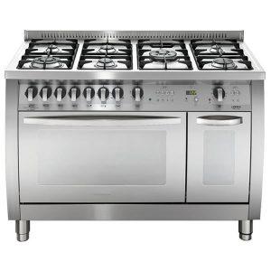 Cucina Lofra CSD126GV+E-2ci 120 Cooker Acciaio Satinato