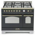 Cucina Lofra RNMD96MFTE/Ci Doppio Forno Elettrico Nero Matt