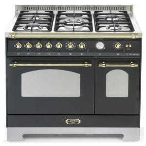 Cucina Lofra RNMD96MFTE-Ci Doppio Forno Elettrico Nero Matt