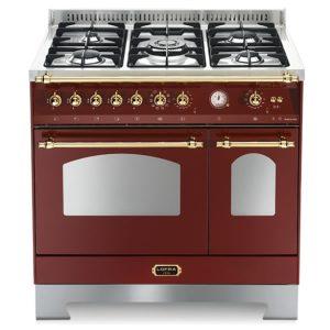 Cucina Lofra RRD96MFTE-Ci Doppio Forno Elettrico Rosso Burgundy