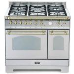 Cucina Lofra RSD96MFTE/Ci Doppio Forno Elettrico Acciaio Satinato