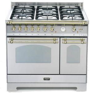 Cucina Lofra RSD96MFTE-Ci Doppio Forno Elettrico Acciaio Satinato
