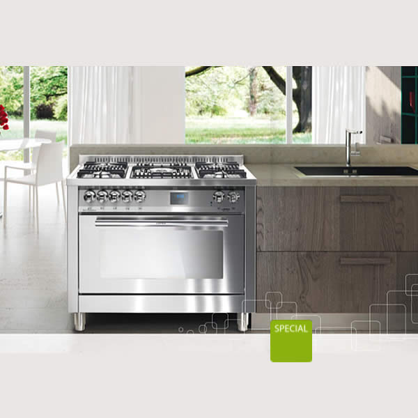 Cucina Lofra Special100 PG106MFT/UI Total Inox