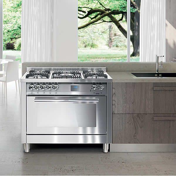 Cucina Lofra Special 100 PG106MFT-UI Total Inox In Cucina