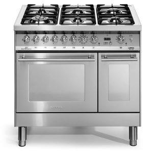 Cucina Lofra Special90 PD96MFTE-CISF Doppio Forno Inox Satinato