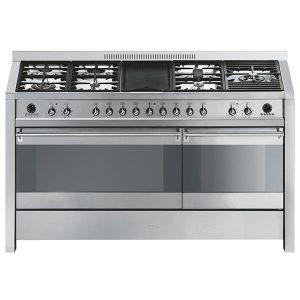 Cucina Smeg A5-8 Doppio Forno 150cm Serie Opera