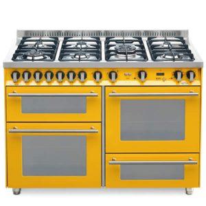 Cucina Triplo Forno Lofra PG126SMFE+MF-2ci Giallo