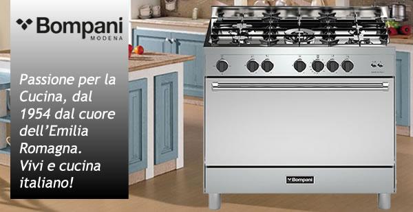 Cucina Romantica - San Valentino Cucina Bompani Inox