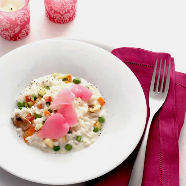 Cucina Romantica - San Valentino Risotto Aromatizzato