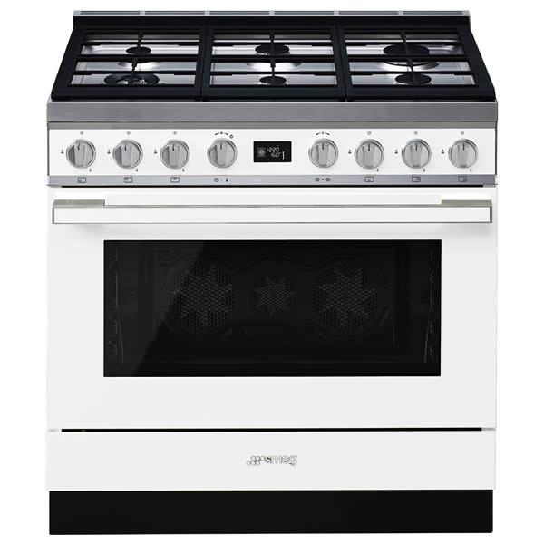 Cucina Smeg CPF9GPWH 90cm Bianco Forno Elettrico Pirolitico - UniPrice