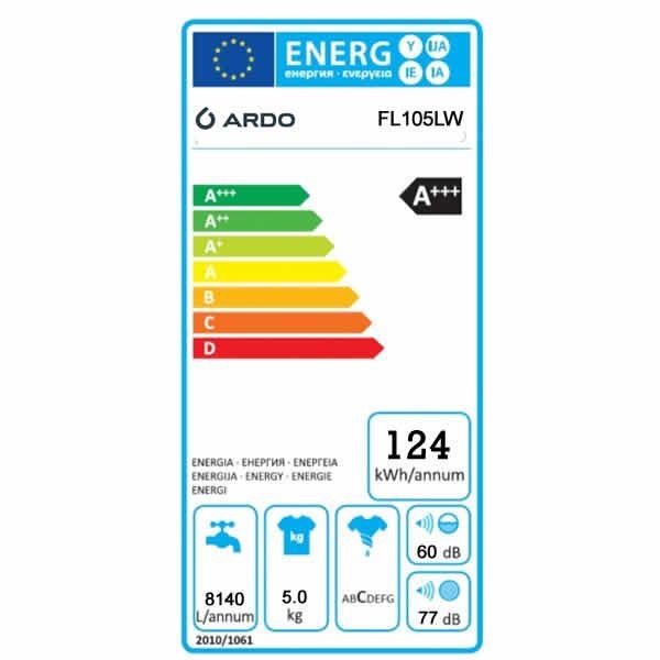 Offerta Lavatrice 5kg Ardo FL105LW 33cm Etichetta Energetica