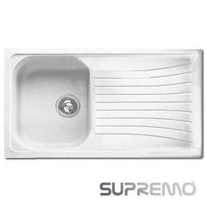 Offerta Lavello 86x50 Nardi LIL861LW Sintetico Bianco Supremo