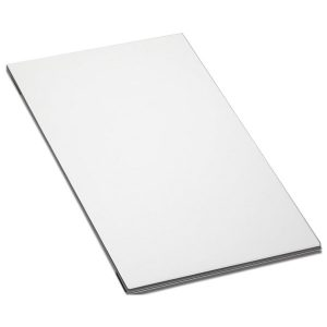Accessori Lavello Apell TSQ24W Tagliere Cristallo Bianco