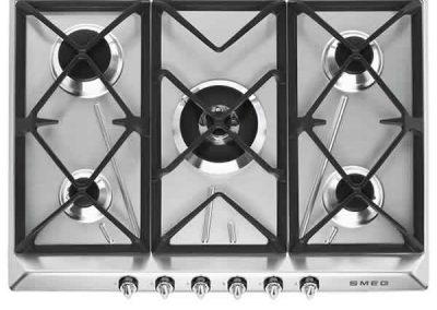 Piano Cottura Gas SR975XGH 5 Fuochi 70cm Estetica Victoria