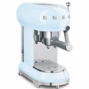 Smeg ECF01PBEU Macchina Caffè Espresso Anni 50 Azzurro