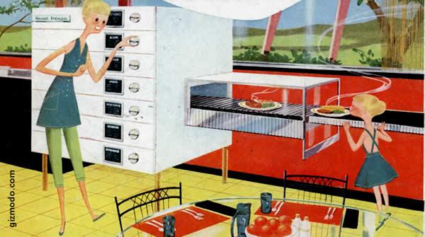 Elettrodomestici Spaziali Cucina del Futuro