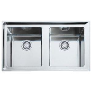 Lavello 86x51 Franke NPX 620 2 Vasche