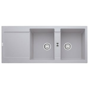 Lavello Franke Alluminio MRG 621 Maris 116x50cm Fragranite