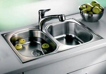 Lavello Cucina 2 Vasche Senza Gocciolatoio.Lavello Franke Olx 620 L 86x50 Cm Inox Satinato Onda Line