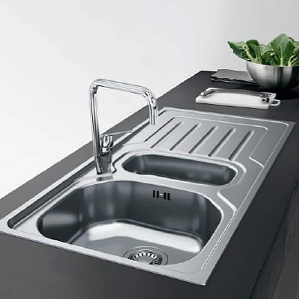 Lavelli da cucina Franke Onda OLX 611 DX Acciaio inossidabile ...