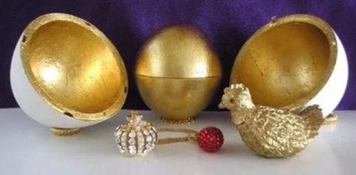 Pasqua Uova di Cioccolata Uovo Fabergé