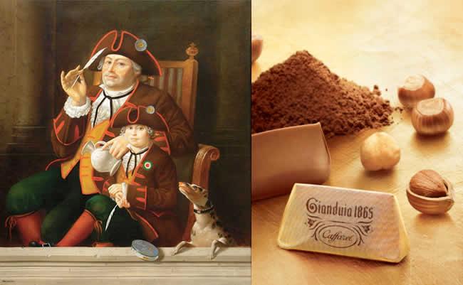 Pasqua Uova di Cioccolata Gianduja e Giandujotto Walther Jervolino