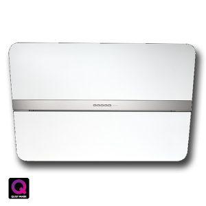 Cappa Falmec Flipper NRS 85cm Parete Design Vetro Bianco