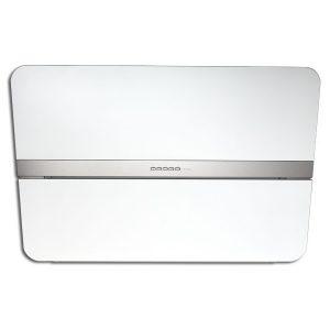 Cappa Parete Falmec Flipper 55cm Design Vetro Bianco