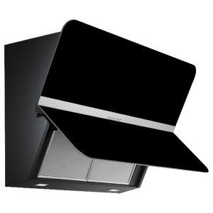 Cappa Parete Falmec Flipper 55cm Design Vetro Nero Filtrante