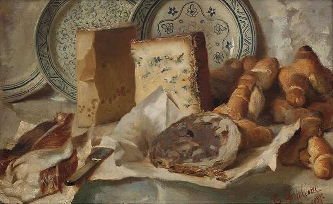 Arte e Cibo Cesare Tallone Gorgonzola