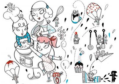 Scopri Forni Franke Ispirazione e Creatività Illustrazione