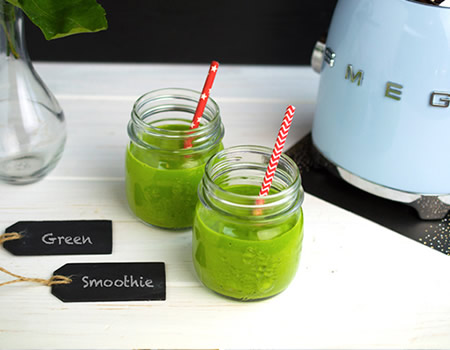 Estate Gelati e Frullati Green Smoothie