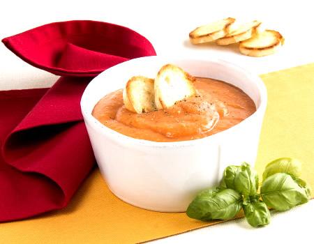 Estate Gelati e Frullati Zuppa di Pomodori