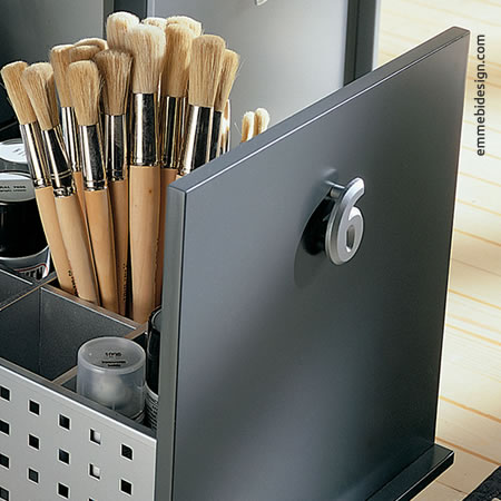 Design e Finiture Verniciatura a Polvere Contenitore Emmebi Design