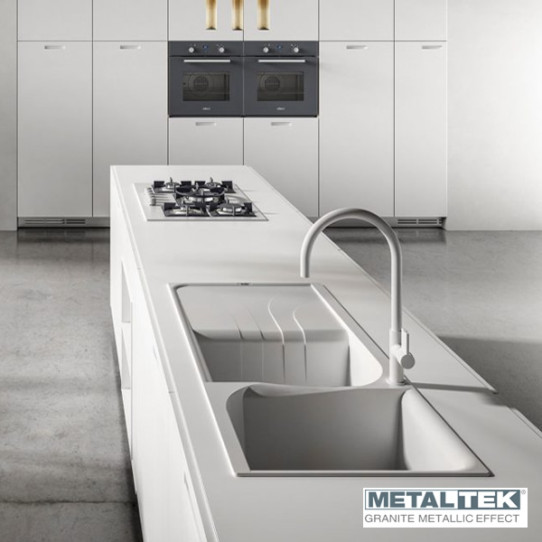 Lavello ElleCi LML45072 86X50cm Living 450 MetalTek Rame