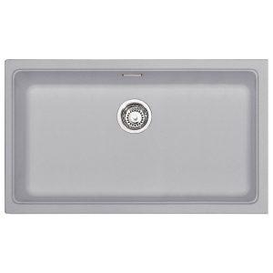 Lavello Franke Alluminio KBG 110-70 Kubus 742x410mm Sottotop 125.0251.997