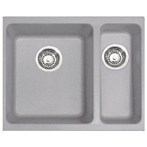 Lavello Franke Alluminio KBG 160 528x400mm Kubus Sottotop 125.0251.998