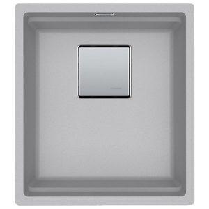 Lavello Franke Alluminio KNG 110-37 Kubus 2 Sottotop 37x42cm 125.0529.421