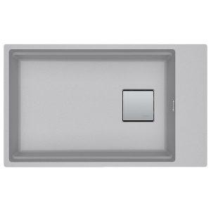 Lavello Franke Alluminio Kubus 2 KNG 110-62 Sottotop 62x42cm 125.0529.853