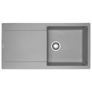 Lavello Franke Alluminio MRG 611-L Maris 97x50cm Fragranite 114.0066.570