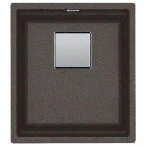 Lavello Franke Copper Grey KNG 110-37 Kubus 2 Supermetallici 37x42cm 125.0543.942