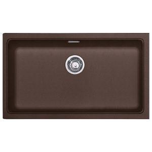 Lavello Franke Dark Brown KBG 110-70 Kubus 742x410mm Sottotop 125.0501.441