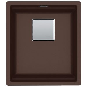 Lavello Franke Dark Brown KNG 110-37 Kubus 2 Sottotop 37x42cm 7612985474825