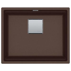 Lavello Franke Dark Brown KNG 110-52 Kubus 2 Sottotop 52x42cm 125.0529.589