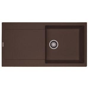 Lavello Franke Dark Brown MRG 611-L Maris 97x50cm Fragranite 114.0501.437