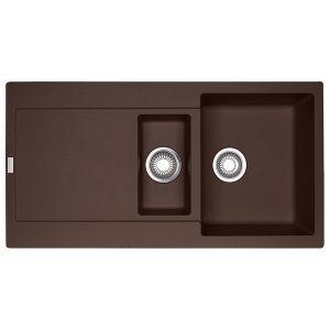 Lavello Franke Dark Brown MRG 651 Maris 97x50cm Fragranite 114.0501.438