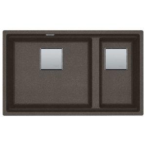 Lavello Franke Sottotop KNG 120 Copper Grey 72x42cm 125.0543.955